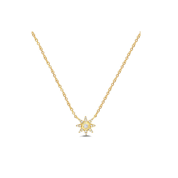 Starstruck Solitaire Necklace (Small)
