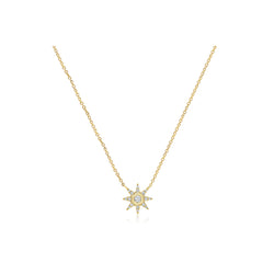 Starstruck Solitaire Necklace (Medium)