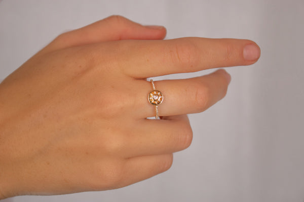 Starstruck Mini Medallion Ring
