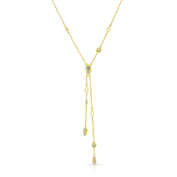 Paradise Opal Double Drop Lariat Necklace