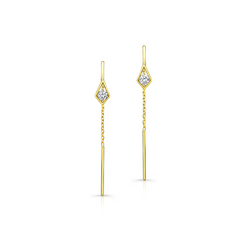 PARADISE POINT DIAMOND EAR THREADER