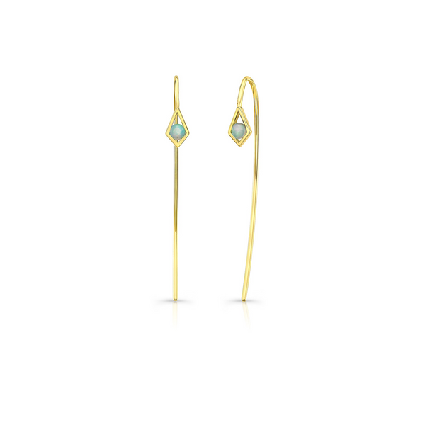 PARADISE POINT OPAL WIRE EARRING