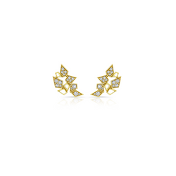 DIAMOND BLOOMING STUDS