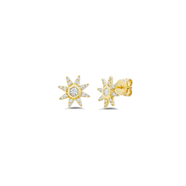 Starstruck Diamond Studs (Medium)