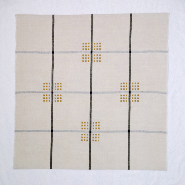 "Samples & Seconds ""Kaffeduk"" Table Square in Cotton and Linen - Crépuscule"