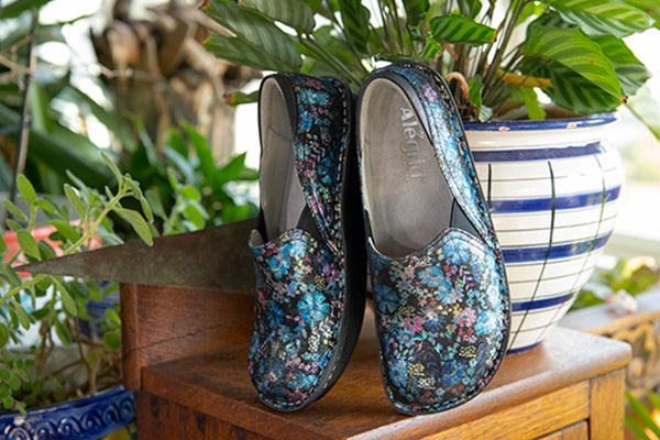 Keli Leopard patent leather shoes