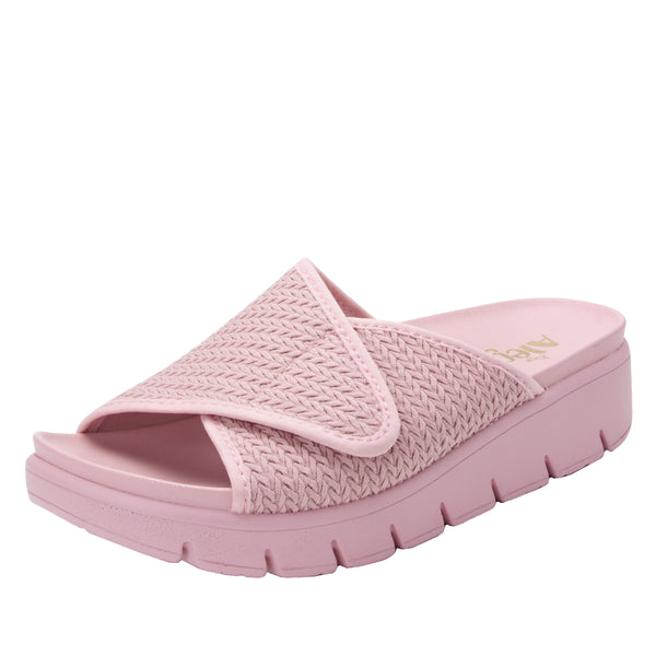 Airie Braided Blush sandal with Dreamfit technology and heritage sport footbed - AIR-114_S1