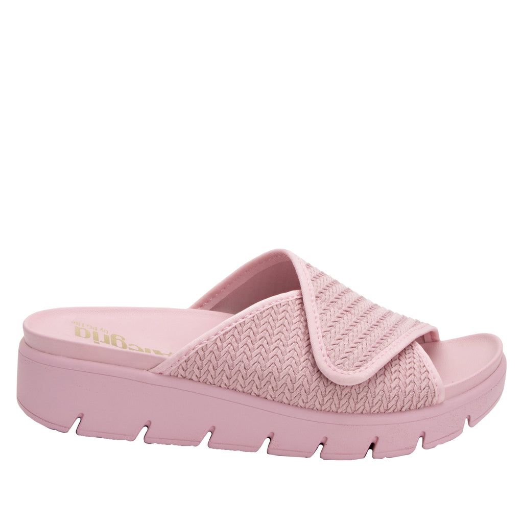 Airie Braided Blush sandal with Dreamfit technology and heritage sport footbed - AIR-114_S2 (2038707355702)