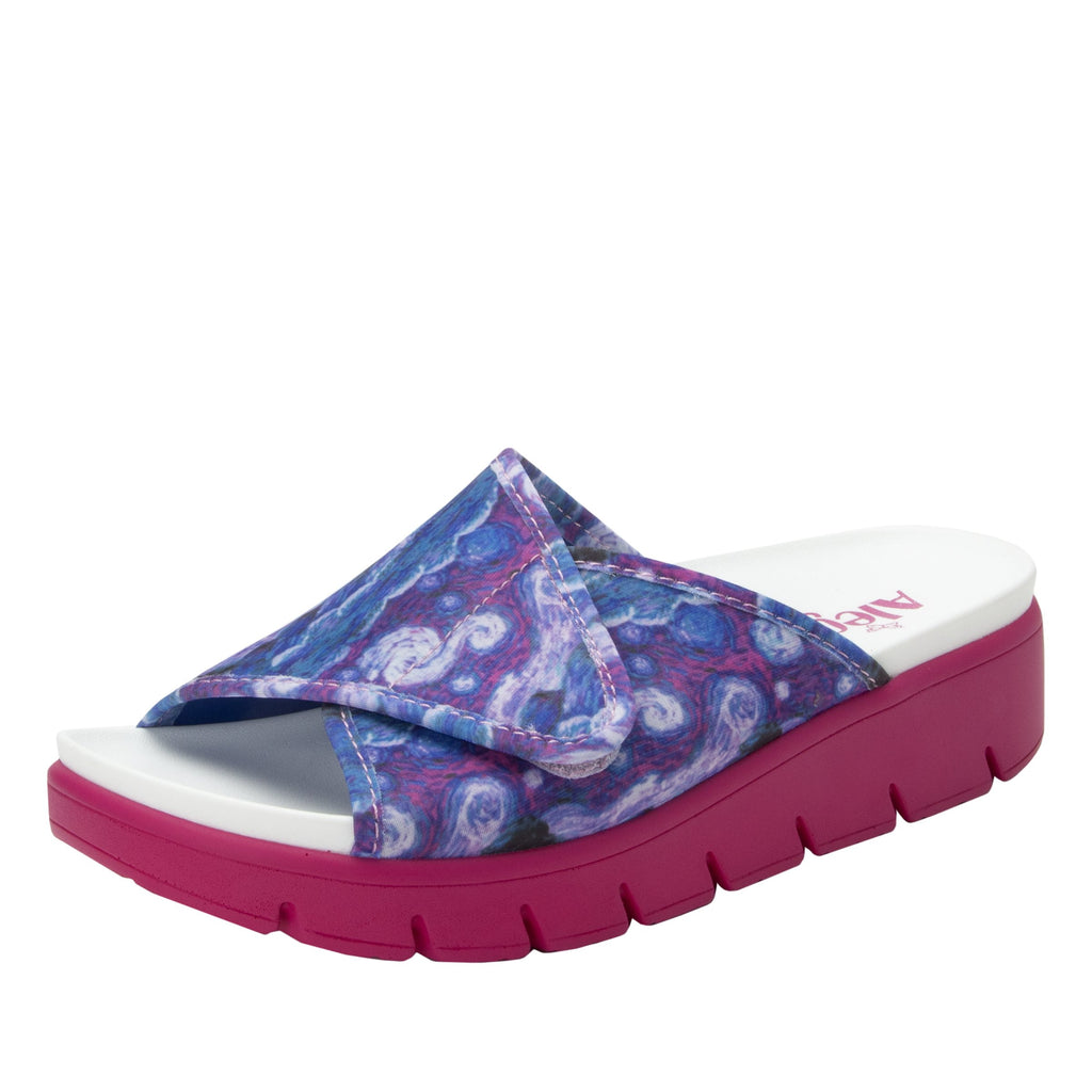 Airie Such A Monet Multi sandal with Dreamfit technology and heritage sport footbed - AIR-267_S1