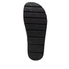 Airie Petrillo Black sandal with Dreamfit technology and heritage sport footbed - AIR-268_S5