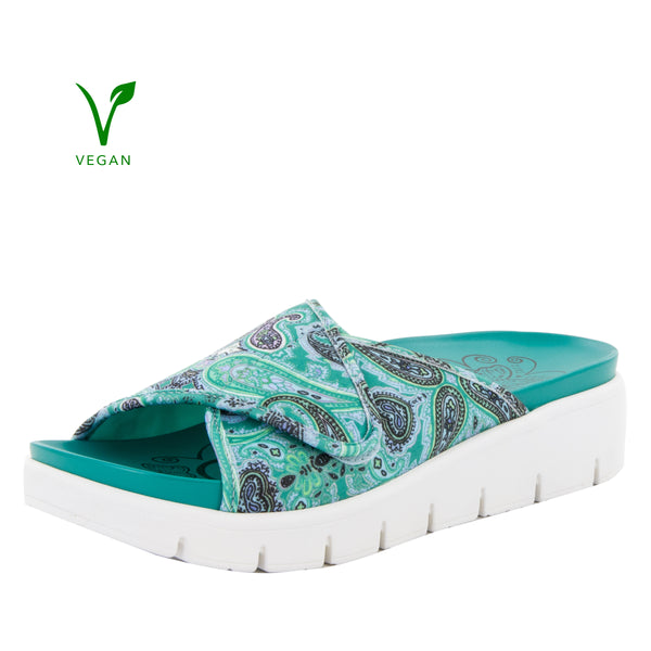 Airie Woodstock Turquoise Sandal