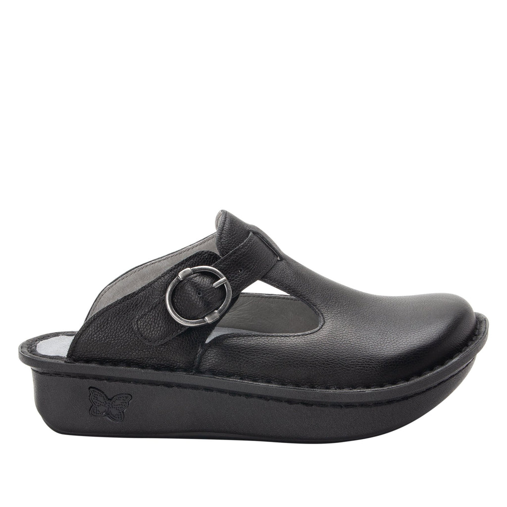 Classic Upgrade open back clog on classic rocker outsole - ALG-161_S2