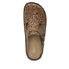 Classic Country Road open back clog on classic rocker outsole - ALG-166_S4