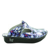Classic Mums the Word Open Back Clog on Classic Rocker outsole - ALG-167_S2