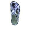 Classic Mums the Word Open Back Clog on Classic Rocker outsole - ALG-167_S4