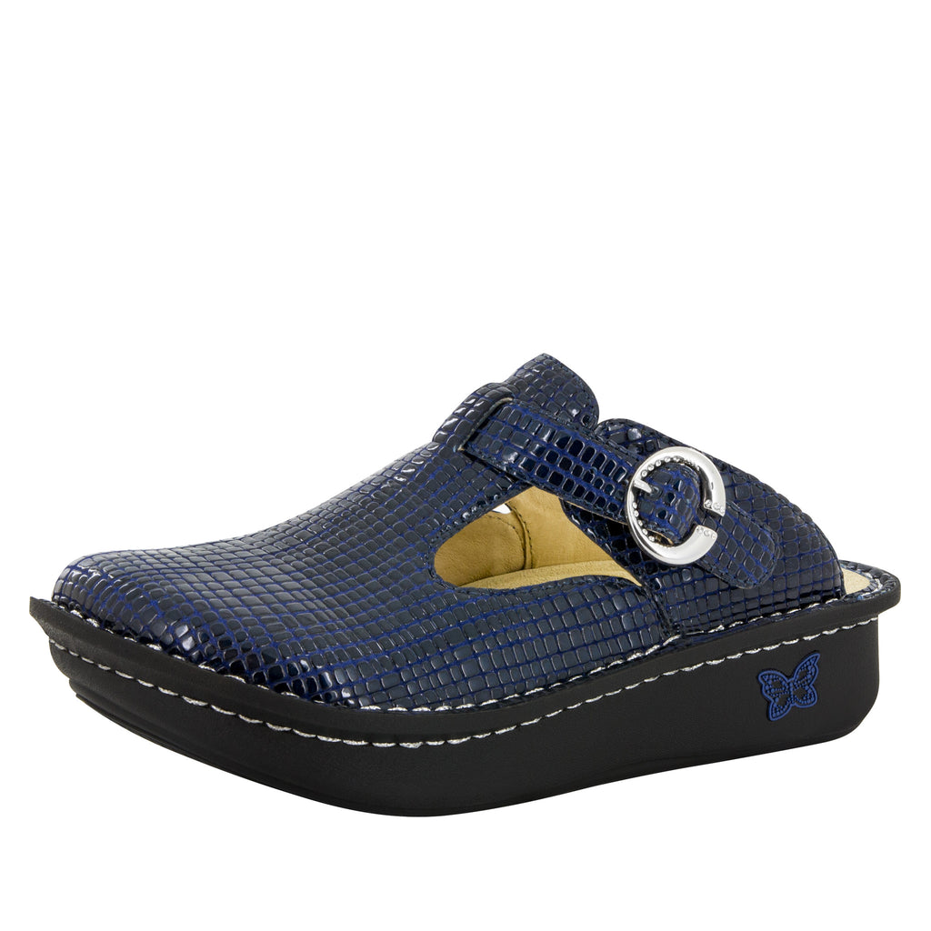 Classic Jazzy Blue Shoe - Alegria Shoes