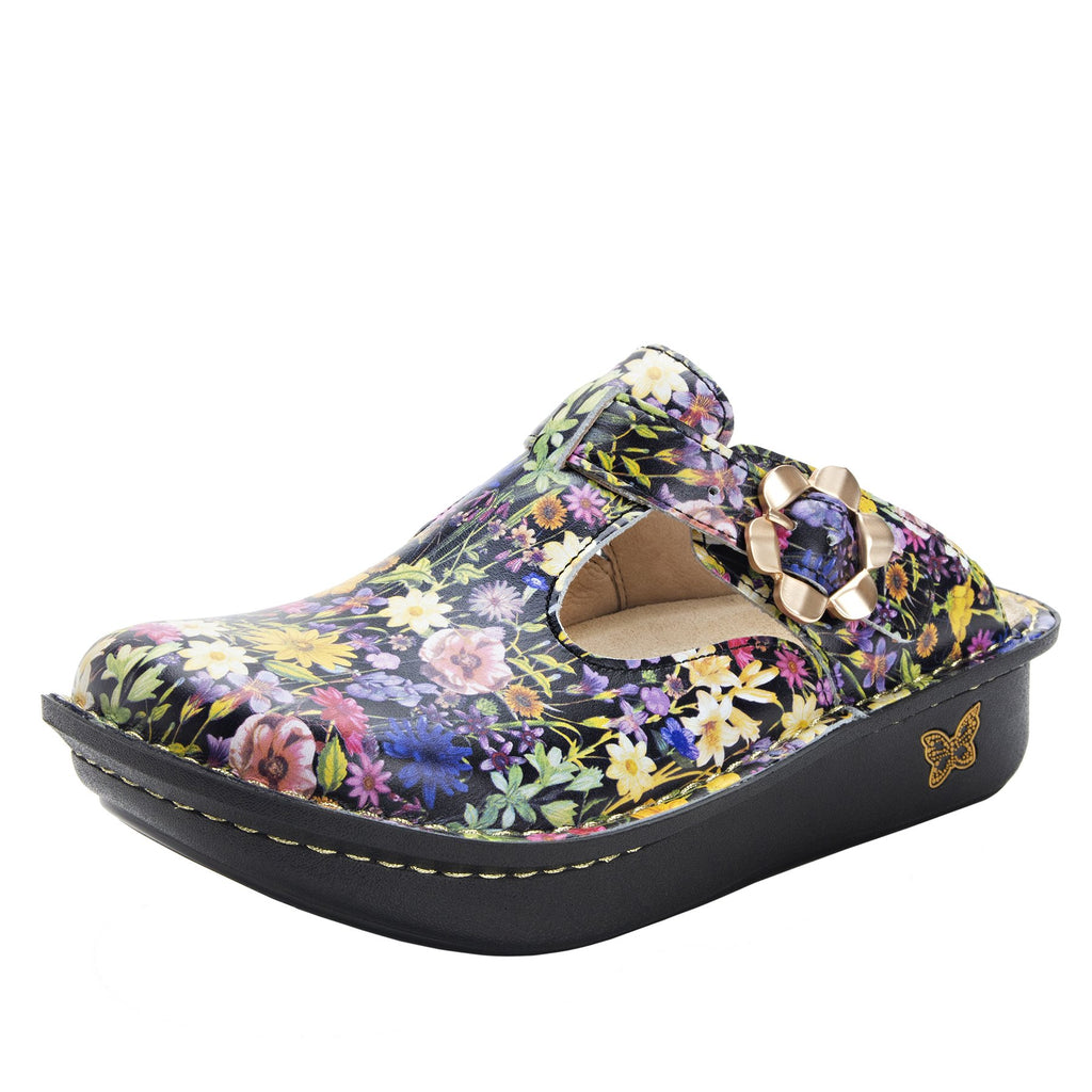 Classic Cultivate open back clog on classic rocker outsole - ALG-420_S1