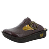 Classic Molasses Tooled Clog - Alegria Shoes - 1