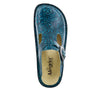 Classic Teal Tooled Clog - Alegria Shoes - 4