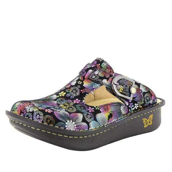 Classic Liberty Love clog with rocker outsole and patented footbed - ALG-450_S1