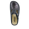 Classic Pewter Thumbprint Clog - Alegria Shoes - 4