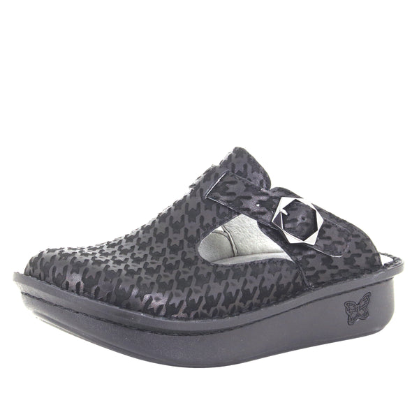 Classic Houndstooth Maxi clog with rocker outsole and patented footbed - ALG-772_S1