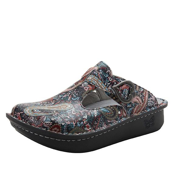 Classic Groovin open back clog on classic rocker outsole - ALG-7802_S1