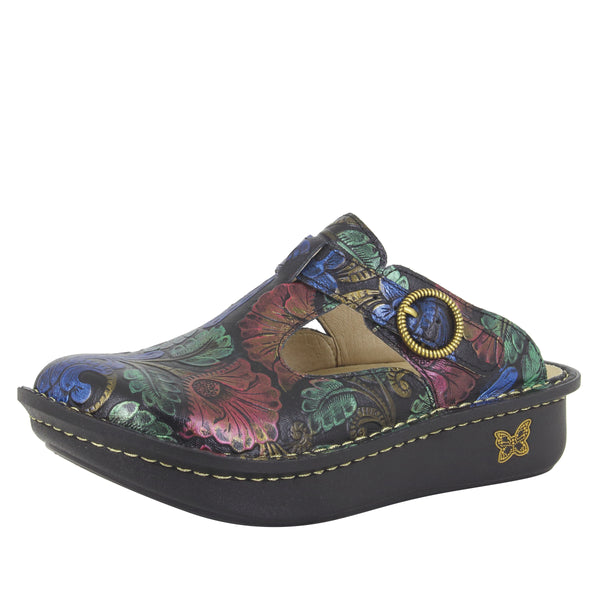 Classic Craftswoman clog with rocker outsole and patented footbed - ALG-835_S1