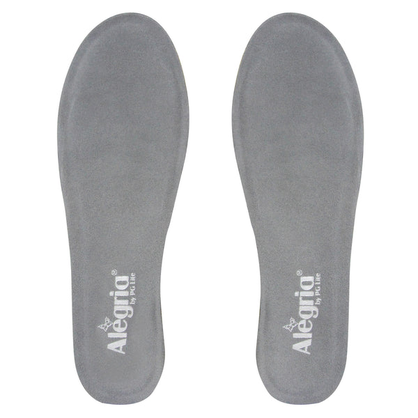 Career Fashion Footbed in Grey - Wide Width - Alegria Shoes