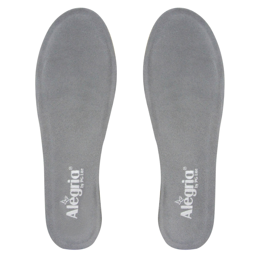 Career Fashion Footbed in Grey - Medium Width - Alegria Shoes