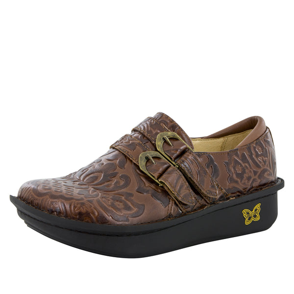 Alli Yeehaw Brown Shoe - Alegria Shoes - 1