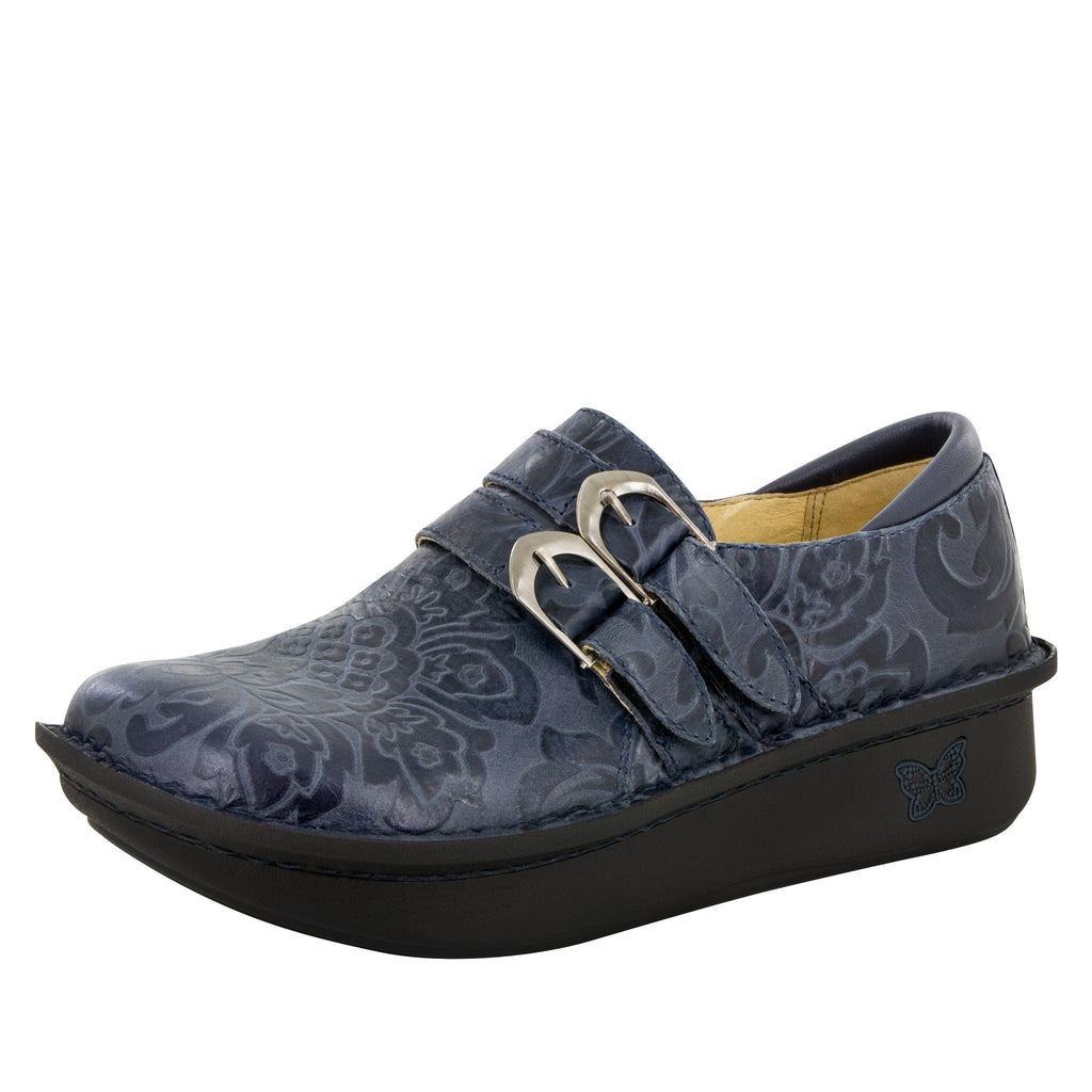 Alli Yeehaw Navy Shoe - Alegria Shoes - 1