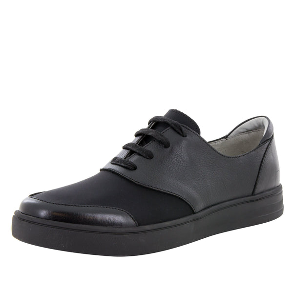 Alegria Men's Flexer Black Mix Shoe