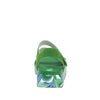 Anah I Got You Babe Green sandal on a printed heritage sport outsole - ANA-171_S3