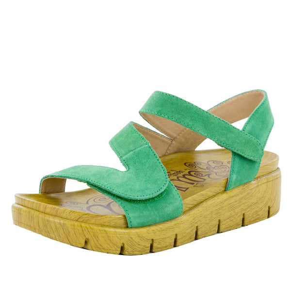 Anah Pear sandal on the heritage sport outsole - ANA-636_S1