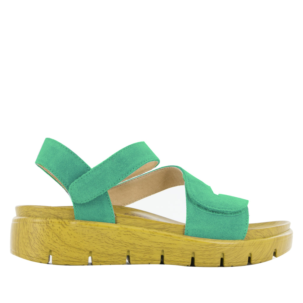 Anah Pear sandal on the heritage sport outsole - ANA-636_S2
