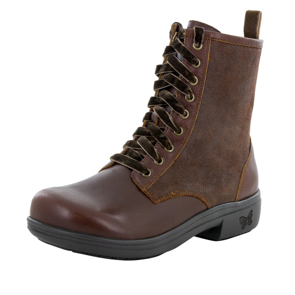 Ari Oiled Suede Hazelnut Boot