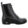 Ari Black Nappa Boot - Alegria Shoes - 2