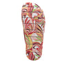 Astara I Got You Babe Red sandal on a printed heritage sport outsole - AST-172_S5