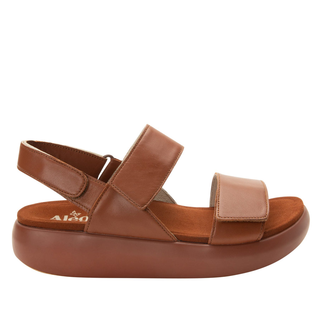 Bailee Luggage ankle strap adjustable sandal with non-flexing sleek rocker bottom with built in arch support  - BAI-602_S2
