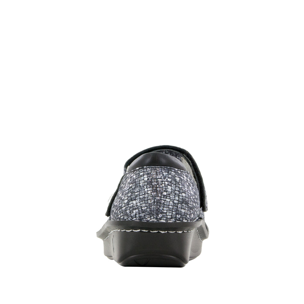 Belle Silver Slate mary-jane shoe with mini outsole - BEL-162_S3