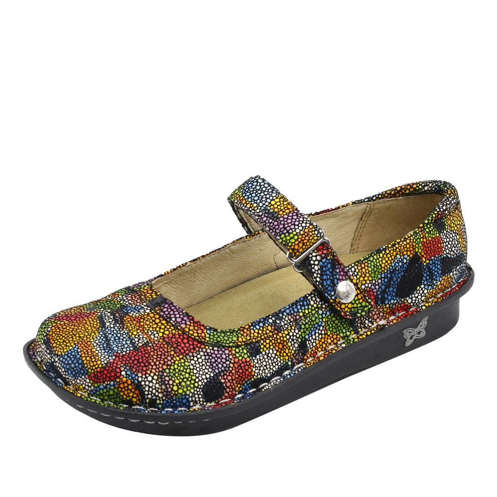 Belle Multi Painterly Shoe