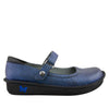 Belle Grid Blue Shoe - Alegria Shoes - 2