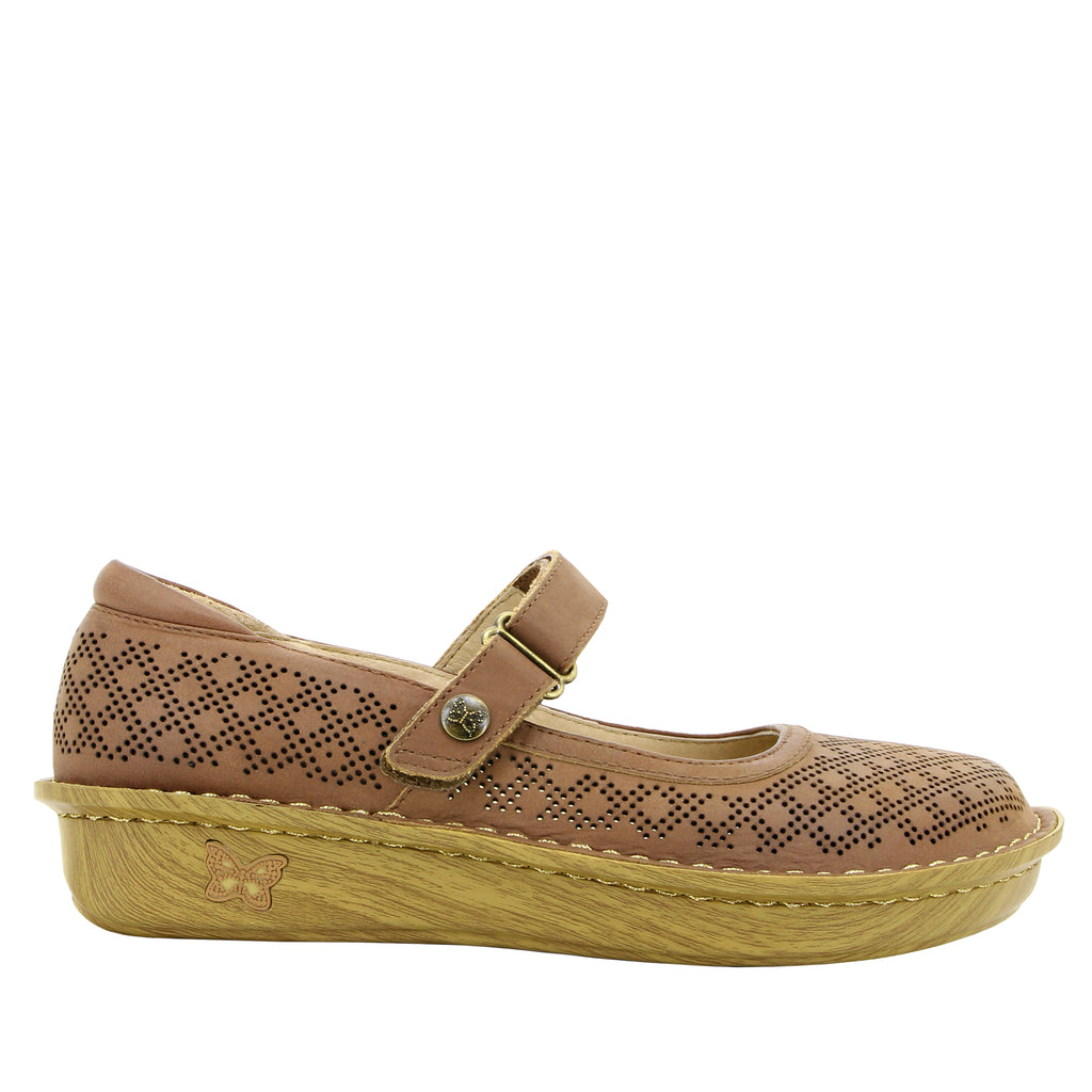 Belle Fresh Tawny Mary Jane shoe with mini outsole - BEL-595_S2