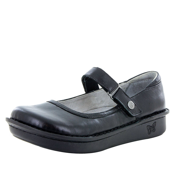 Belle Jet Luster mary-jane shoe with mini outsole - BEL-640_S1