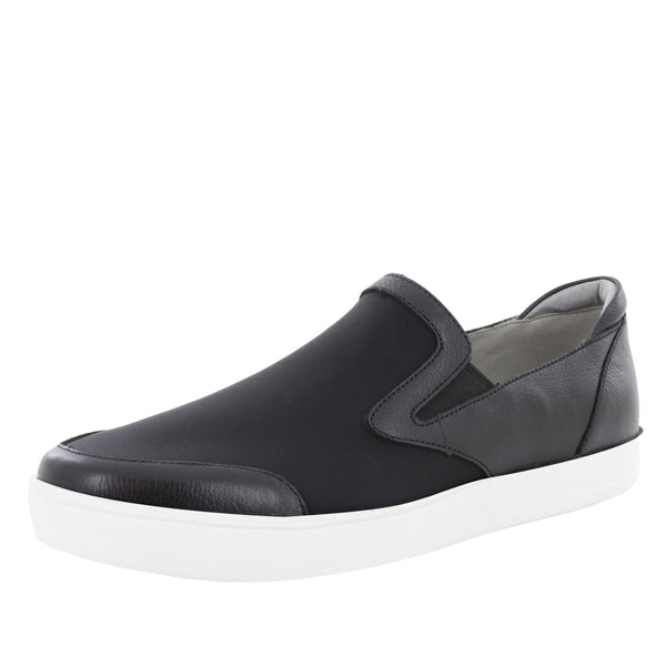Alegria Men's Bender Black Mix Shoe