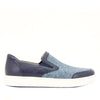 Alegria Men's Bender Blue Blend Shoe