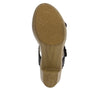 Bobbi Finely double adjustable strap slide sandal on comfort heel outsole- BOB-101_S5