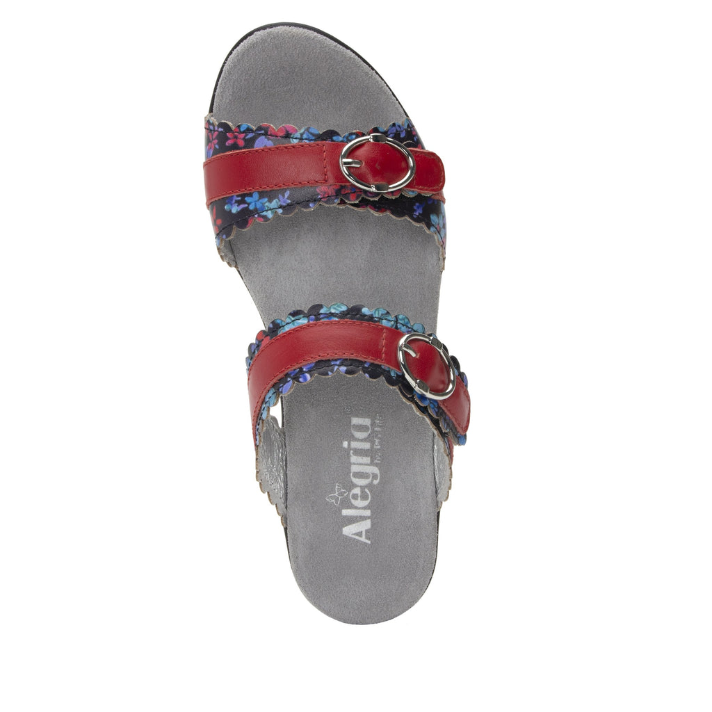 Bobbi Funzies double adjustable strap slide sandal on comfort heel outsole- BOB-104_S4 (2128634282038)