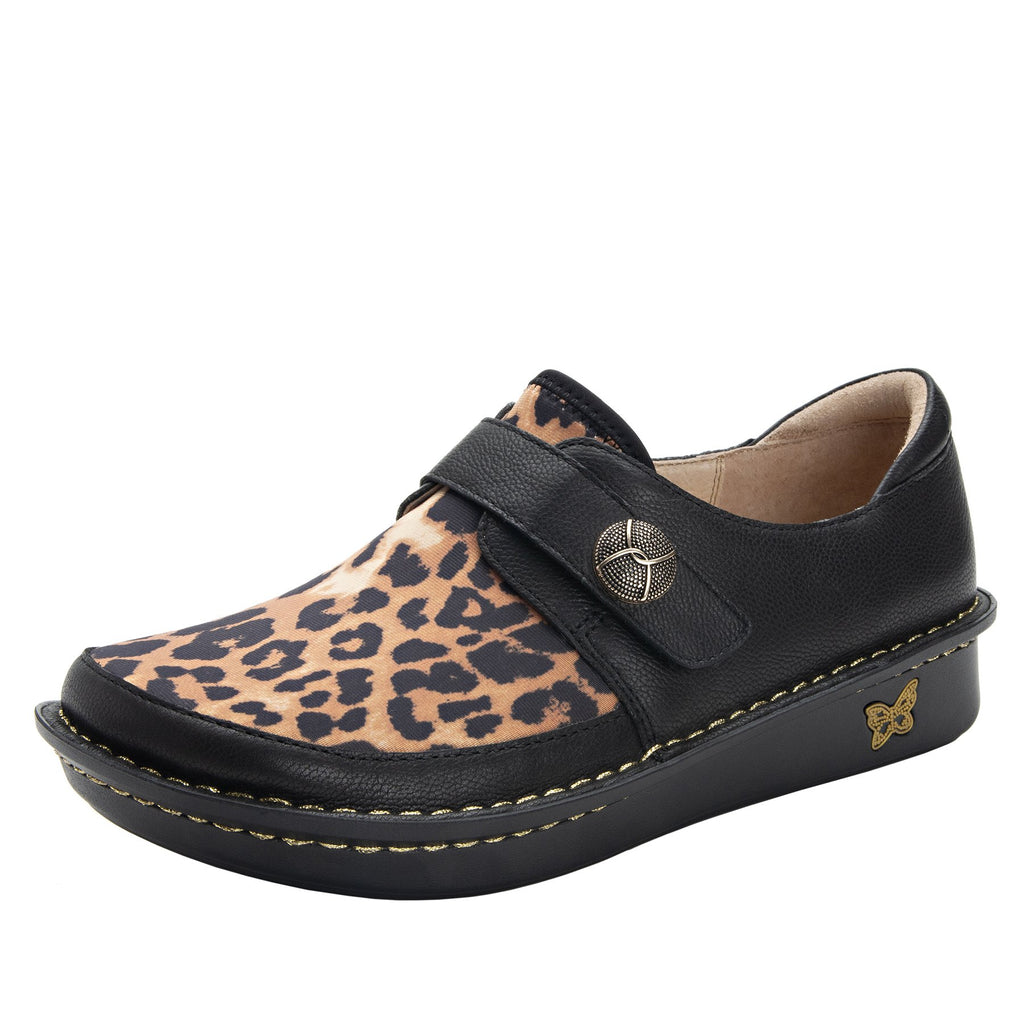 Brenna Leopard Shoe with Dream Fit technology paired with mini outsole - BRE-402_S1
